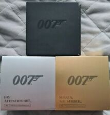 Complete 2020 Royal Mint James Bond 007 Half Ounce Silver Coin Collection