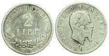 pci0164) Regno Vittorio Emanuele II lire 2 Valore NA 1863 NC