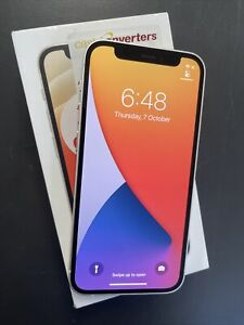 Apple iPhone 12 mini 128GB, White (Unlocked) w/ warranties MGE43X/A