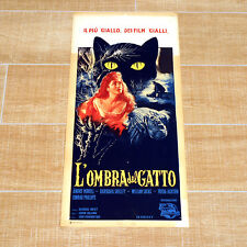 L'OMBRA DEL GATTO locandina poster Gilling The Shadow of the Cat AQ52