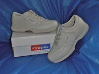 Propet M3704 Mens Lite Walking Shoe,Bone size 12  X [EEE ]