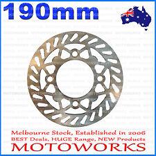 190mm Brake Caliper Disc Disk Rotor PIT PRO Trail Quad Dirt Bike ATV Buggy Gokar