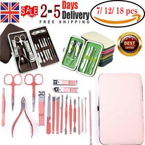 Manicure Set Nail Care Kit Clipper Pusher Nipper Clipper Nail Cutter Scissor