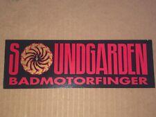 Soundgarden PROMO Sticker Badmotorfinger NOT A REPRO   NEVER USED Chris Cornell