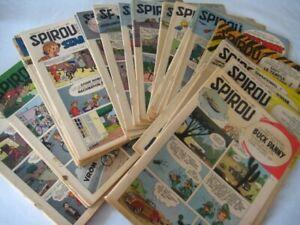 Le Journal de Spirou année 1954 52 numéros du 821 au 872