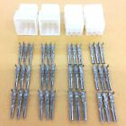 """NEW 2 Pairs of 9 Circuit Molex 0.062"""" Male and Female Connectors with Pins"""