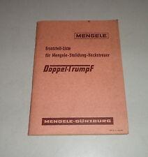 Teilekatalog / Ersatzteilliste Mengele Stalldung-Heckstreuer Doppeltrumpf