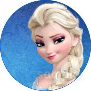 Frozen 2 Eiskönigin Elsa Zopf Eßbar Tortenaufleger Party Deko Geburtstag Muffin