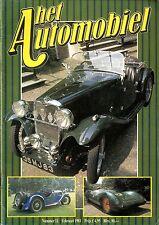 1981 HET AUTOMOBIEL MAGAZIN 11 GRAND PRIX ALTA 1949 KAISER DE LUXE SPECIAL SEDAN
