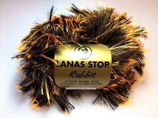 10 Stü. Lanas Stop RABBIT Farbe* 011 Luxuswolle 10x50 Gra Garn Wolle