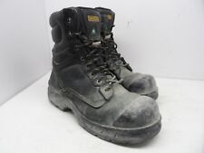 DAKOTA Men's 8'' 877 STEEL TOE STEEL PLATE WORK BOOT Black Size 11M