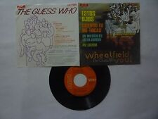 """THE GUESS WHO """" WHEATFIELD SOUL """" RCA 1969 - VERY GOOD - MEXICAN EP 7''"""