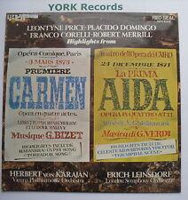 OPO 1003 - CARMEN / AIDA Highlights - DOMINGO / PRICE - Excellent Con LP Record