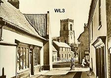 North Norfolk Postcard - Wells next the Sea - Church Plain - Circa 1935 - WL3