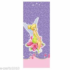 TINKER BELL Tink PLASTIC TABLE COVER ~ Disney Fairies Birthday Party Supplies