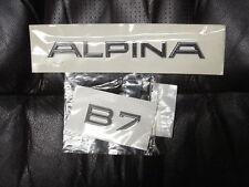 BMW F01 F02 E65 E66 B7 Alpina Original Trunk Emblems Set  2002-up
