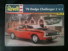 (#55) 1970 DODGE CHALLENGER  2'N 1 REVELL 1:25 SCALE KIT
