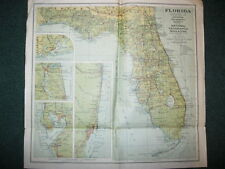 1930 FLORIDA NATIONAL GEOGRAPHIC MAP