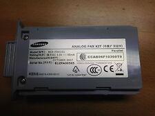 SAMSUNG scx-fax101 KIT FAX ANALOGICO g3 per Samsung scx-6345n | ITU-T