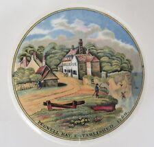 Pot lid. 'Pegwell Bay, established 1760' No.25a
