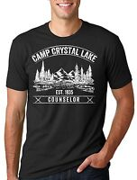 Camp Crystal Lake T-shirt Counselor Tee Shirt Camp Camping T-shirt Summer Tee
