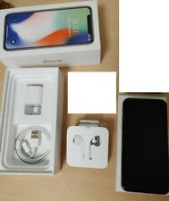 Apple iPhone X - 64GB - Silver (Unlocked) A1901 (GSM) ship fast.