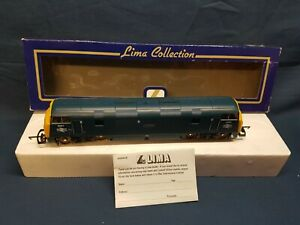 """LIMA 204892 B.R BLUE, YELLOW ENDS WARSHIP CLASS 42 """"CARADOC"""" D807 EXC BOXED"""