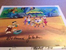 Hanna Barbera Flintstones meet the Jetsons signed