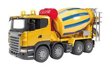 BRUDER: SCANIA R - 4 Assi Autobetoniera / Cement Mixer Truck [3554]