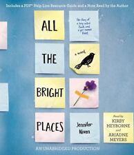 All the Bright Places by Jennifer Niven (2015, CD, Unabridged) 9 cd set, Unanrid