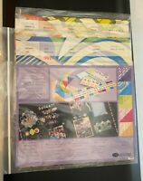 Creative Memories 12x12 ALBUM KITS Lot of 3 New Paper, Stickers & Die Cuts