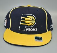 Indiana Pacers Reebok NBA Fitted Cap Hat - Size: 7 1/8