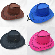 3baebd07dec Unisex Sun Hat West Cowboy Straw Cap Outdoor Casual Wide Rims Travel Topee  Hot