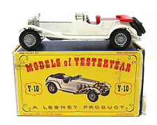 Vintage Lesney Models Of Yesteryear 1928 Mercedes 36/220 Y-10 Die Cast 1:52 Nice