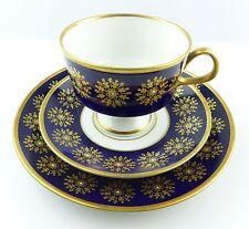 #e5169 kaffeegedeck de luz RDA real cobalto con oro Dekor