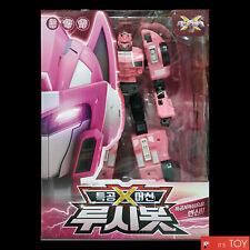 MINIFORCE X LUCYBOT Lucy Bot Pink Ranger Transformer Machine Car Robot 2018