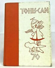 Tohiscan~1970~Toledo High School Yearbook~Toledo, Oregon