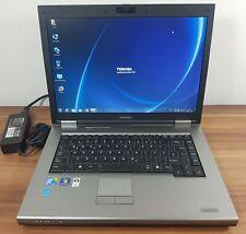 Notebook Toshiba Satellite Pro Intel Core 2 Duo T6570 2,1GHz 4GB 250GB Wlan Win7