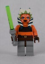 LEGO Minifigure Star Wars AHSOKA + lightsabre