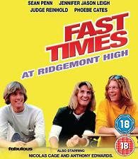 Fast Times at Ridgemont High 5030697038012 With Sean Penn DVD Region 2