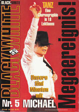 Michael Jackson Black & White Nr 5 German DE Magazine Fanzine 1993