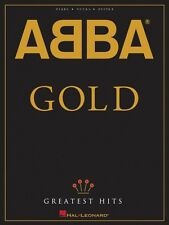 ABBA Gold Greatest Hits Sheet Music Piano Vocal Guitar Songbook NEW 000308233