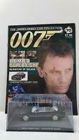 1/43 JAMES BOND 007 DIE CAST DAIMLER SUPER EIGHT #70  MAGAZINE