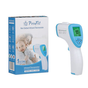 Perfit Non-Contact Infrared Digital Forehead Thermometer LCD Temperature Gun