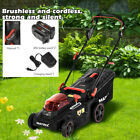 40V 16 Inch Cordless Twin Force Lawn Mower 2x4Ah Batteries With Charger Include.