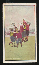1904 Sniders & Abrahams Incidents in Play Fitzroy v Richmond  Cigarette card
