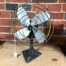 Antique Electric Fan Pure Breez All American Electrical Mfg Co Works