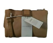 Lucky Brand Leather 3-in1 Convertible Wallet Vachetta NWT