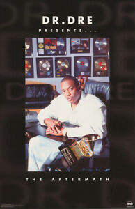 POSTER: RAP :  DR. DRE - AFTERMATH   1996  - FREE SHIPPING !   #8018  RC3 G