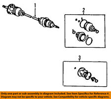 TOYOTA OEM-Front CV Axle Joint Boot 044380E020